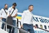 Збірна України прибула в Чехію